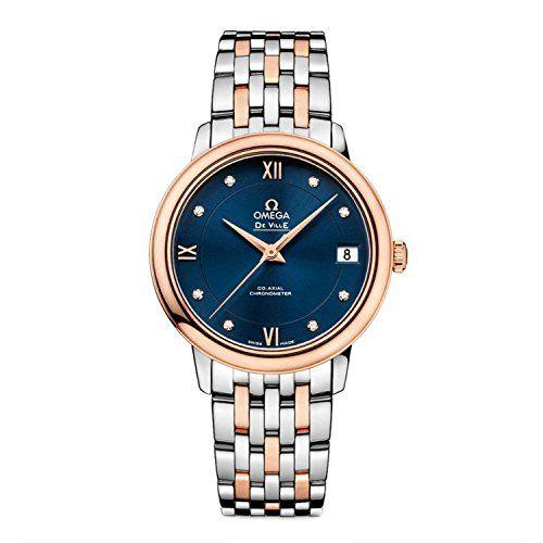 OMEGA De Ville Prestige Diamond Ladies 42420332053001 Watch *** See this great p...