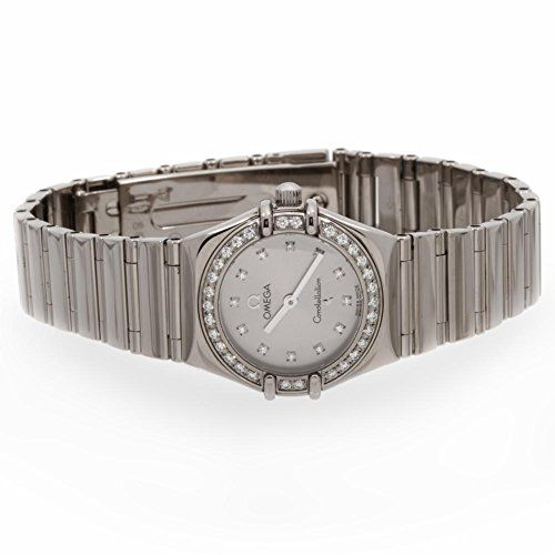 Omega Constellation quartz womens Watch 11653600 Certified Preowned *** Learn mo...
