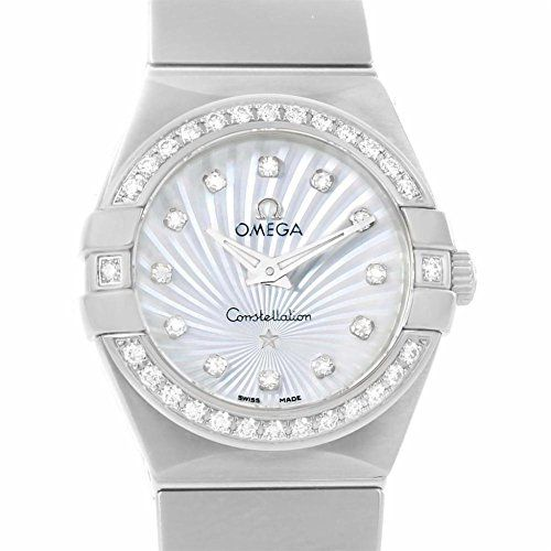 Omega Constellation quartz womens Watch 12315246055004 Certified Preowned * See ...