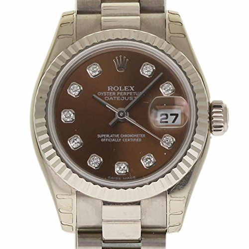 Rolex Datejust swiss-automatic womens Watch 179179 (Certified Pre-owned) -- For ...