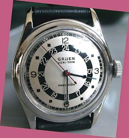 Beautifull Gruen vintage wrist time piece