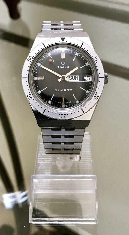 FS: Vintage Timex Day-Date Quartz Diver (newoldstockwatche...)