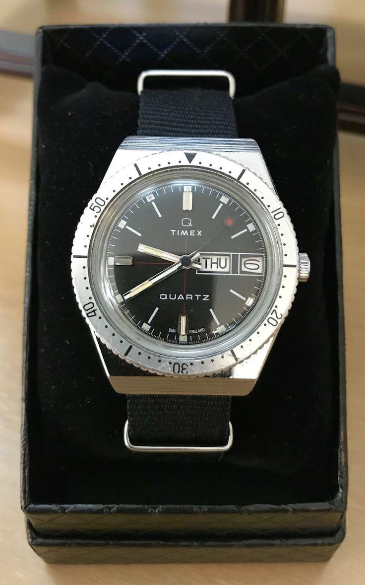 For Sale: Vintage Timex Day-Date Quartz Diver (newoldstockwatche...)