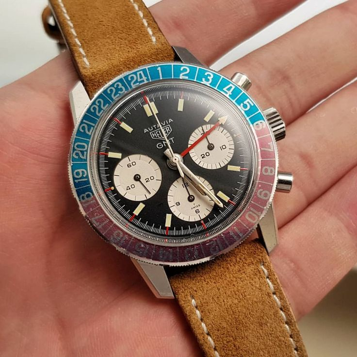 Last but not least, another GMT with a chronograph complication. Best vintage ch...