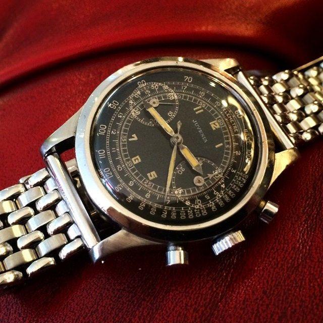 Juvenia V175 Chronograph #juvenia #venus175 #chronograph #vintagechronograph #...