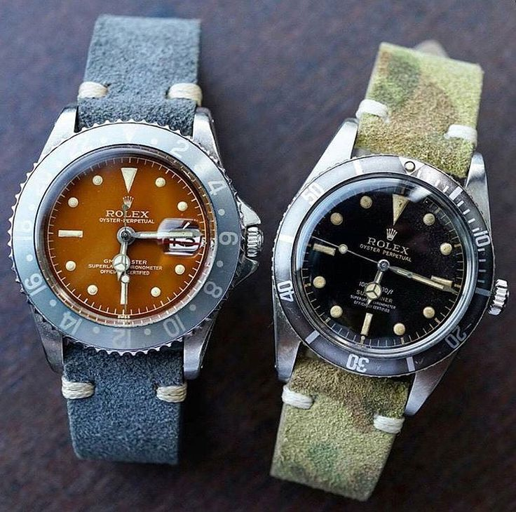 """The faded dials on these are truly stunning with the GMT being our favourite..."