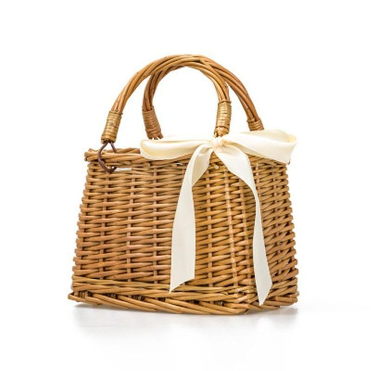 Little Basket Bamboo Bag
