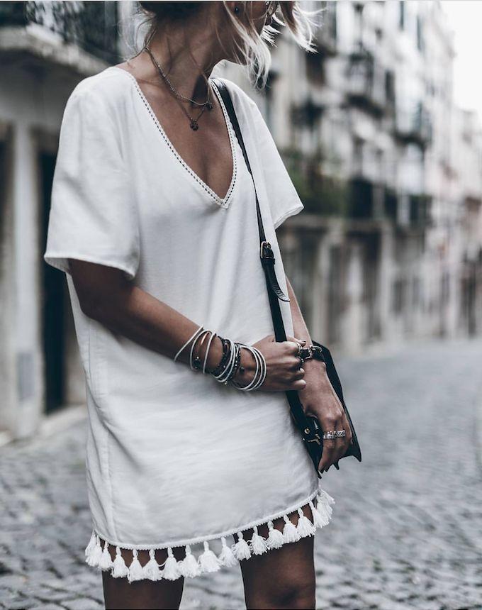 Tassel dress.