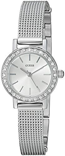 GUESS Women's Quartz Stainless Steel Casual Watch, Color:Silver-Toned (Model...