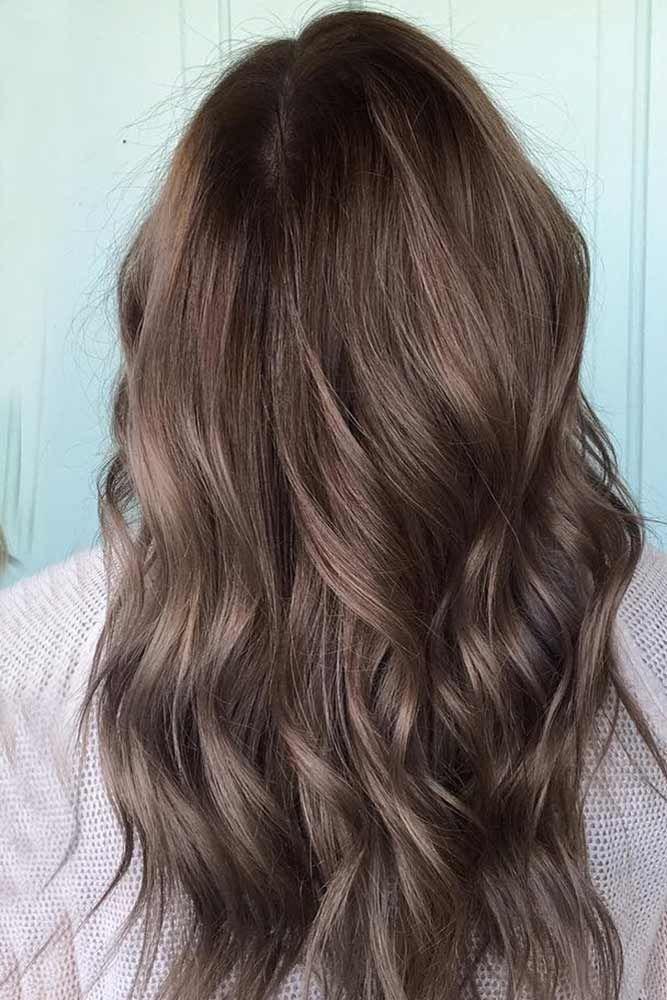 Ash Brown ❤️ See light brown hair color variations that suit dark, medium, a...