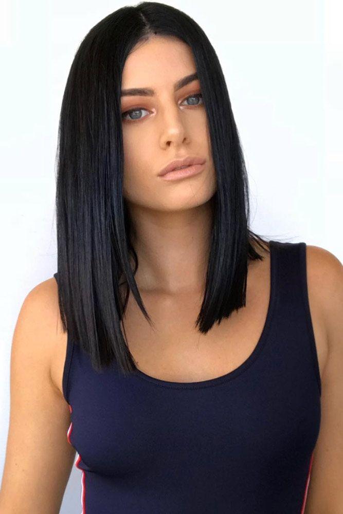 Black Brunette Hair ❤️ Brunette hair often gets a bad rap. However, there ar...