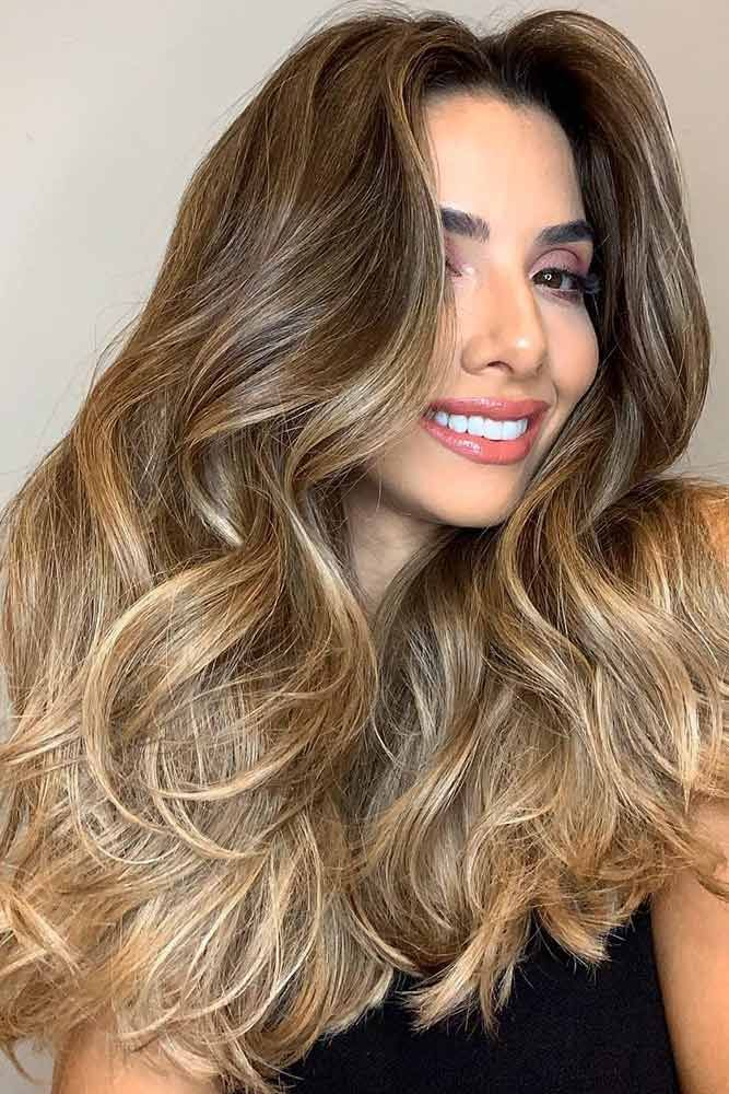 Blended Blonde Ombre On Dark Hair #brunette #ombre #blondehair ❤️ Upgrade yo...
