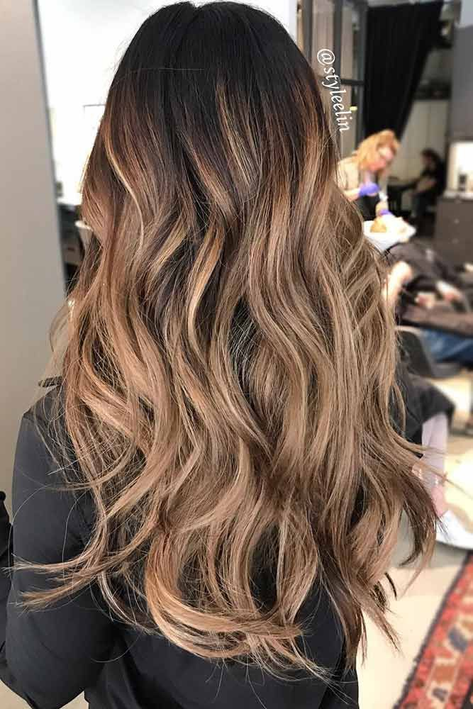 Brown To Blonde Highlights Balayage ❤️ See light brown hair color variations...