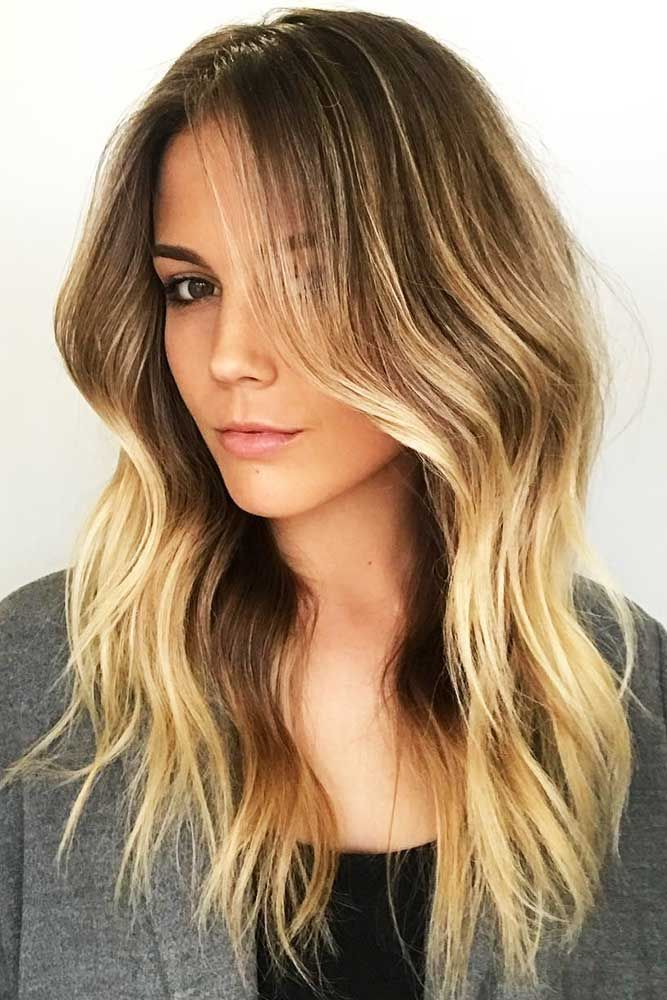 Brown With Blonde Balayage #brunette #blondehair #balayage ❤️ Upgrade your p...