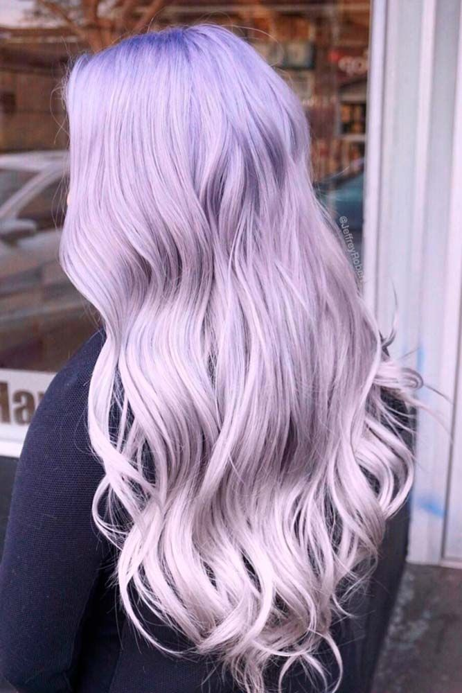 Candy Purple Lavender Hair Color #purplehair ❤️ When you think about purple ...