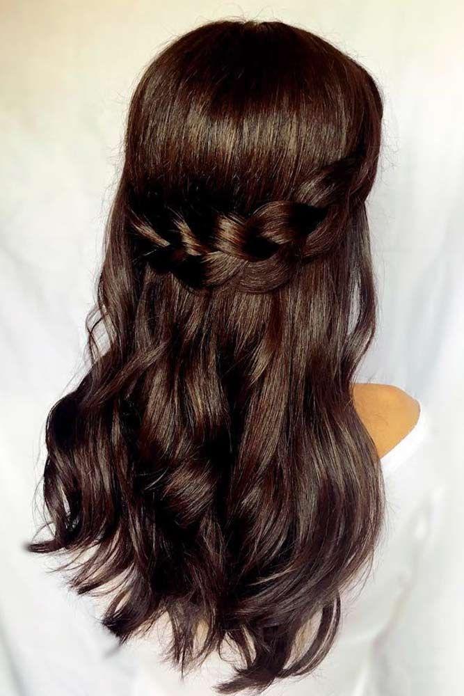 Gorgeous Dark Brown Hair Color ❤️ Dark brown hair color looks very mysteriou...