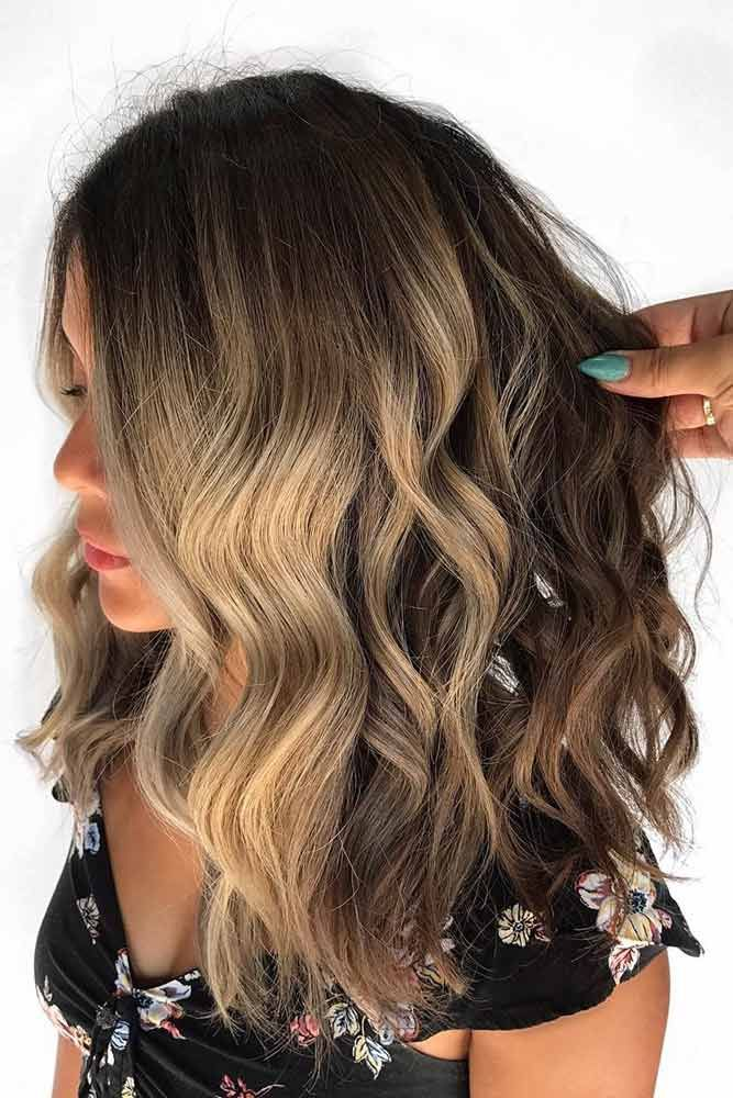 Light Brown To Blonde Balayage ❤️ See light brown hair color variations that...
