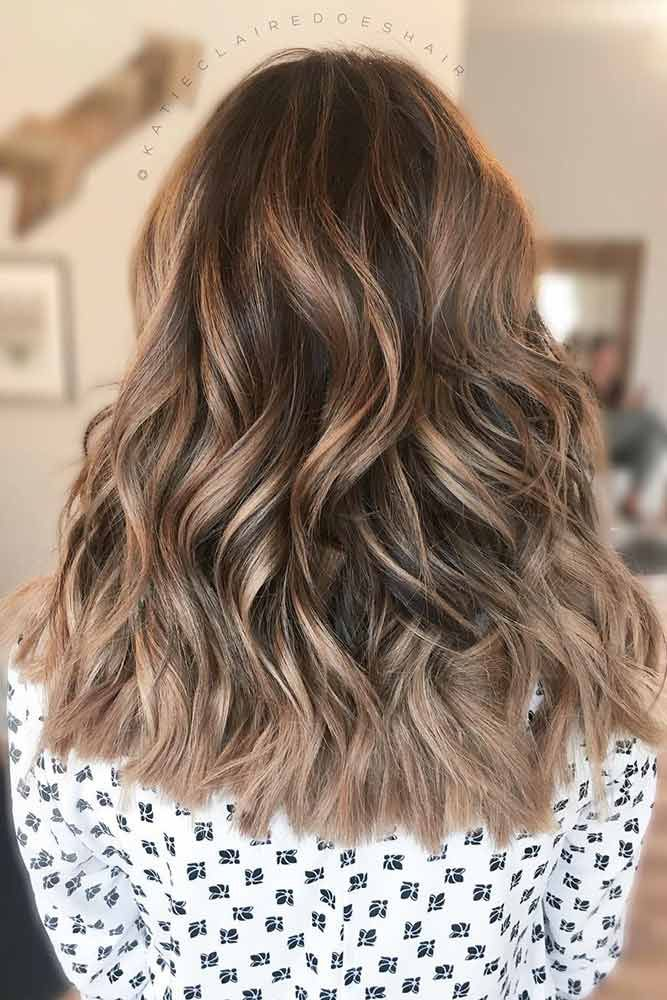 Light Brown To Blonde Balayage Highlights ❤️ See light brown hair color vari...