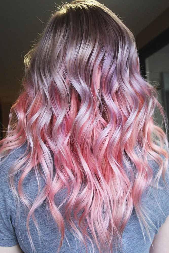 Light Strawberry Lilac #unicornhair #pinkhair ❤️ Unicorn hair is a new trend...
