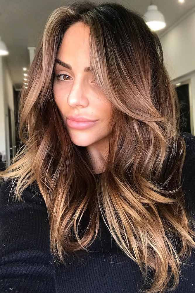 Melty Chocolate Ombre Brunette #brunette #balayage  ❤️ Upgrade your plain br...