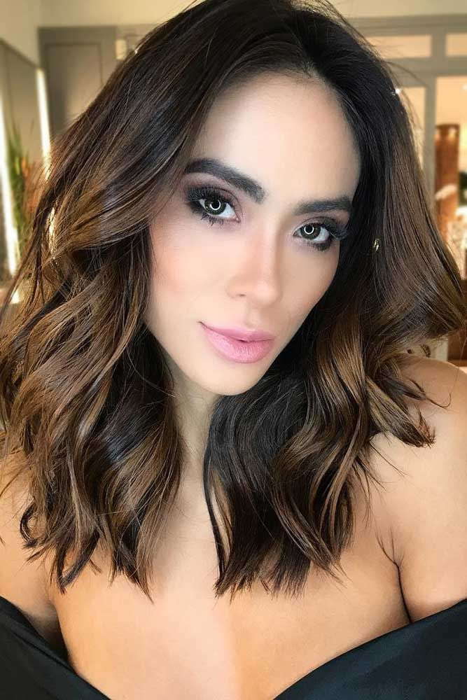 Natural Dark Brown Hair Color #brunette ❤️ Upgrade your plain brown hair col...