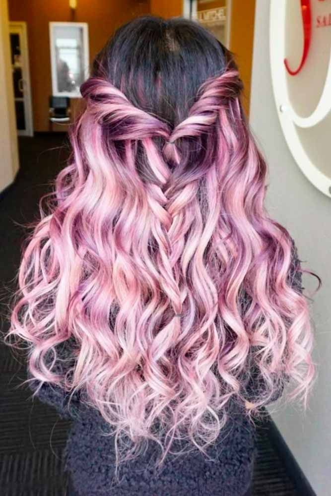 Popular Violet Black Hair Color #purplehair ❤️ When you think about purple h...