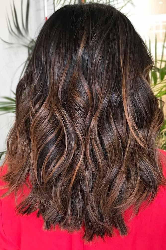 Reddish Brown Highlights Chesnut #brunette #redhair #highlights  ❤️ Upgrade ...
