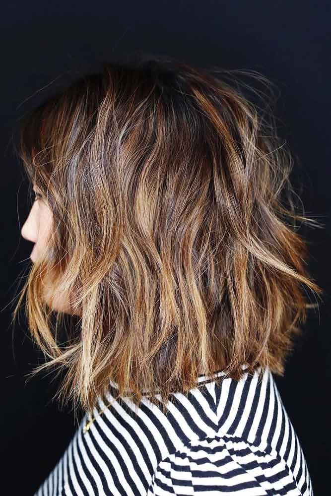 Sunkissed Brunette Brown ❤️ See light brown hair color variations that suit ...