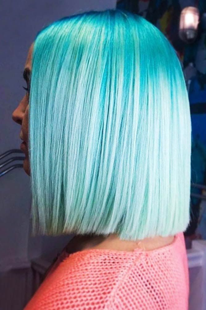 Teal White #tealhair #blondehair #balayage ❤️ What can compare to the gorgeo...