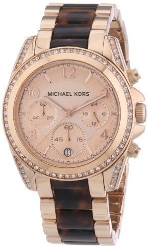 Michael Kors Women's Quartz Watch MK5859 with Metal Strap *** To view furthe...