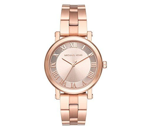 Michael Kors Womens Norie Rose GoldTone Watch MK3561 *** Details can be found by...