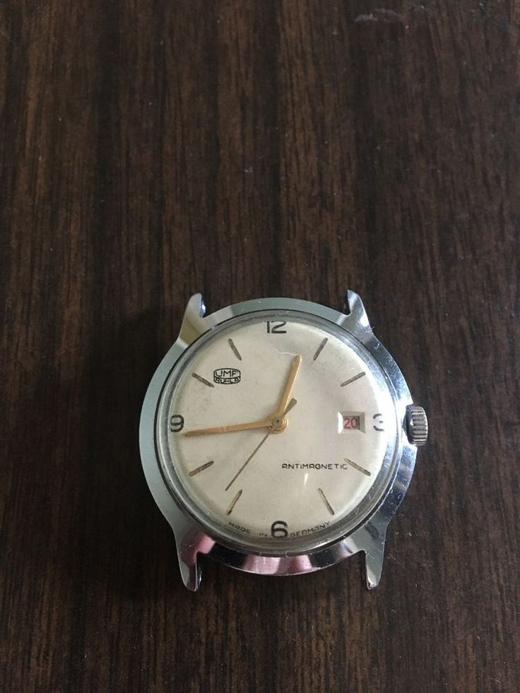 Vintage German UMF Ruhla Wristwatch