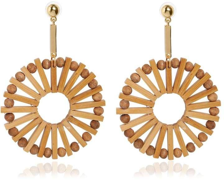 Eva Bamboo Earrings Cult Gaia