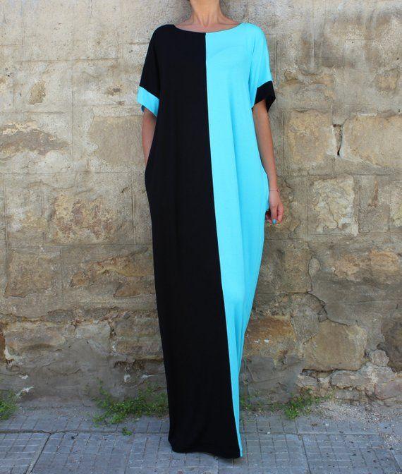 Contrast Ying Yang Dress
