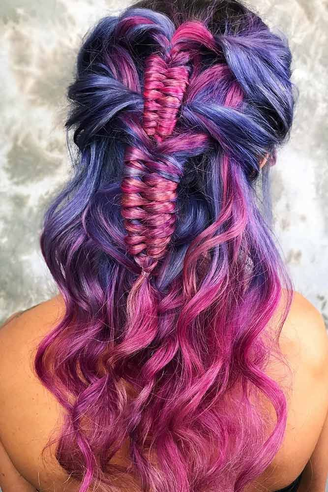Byzantine Blue #pinkhair bluehair #ombre ❤️ A blue hair color will work grea...