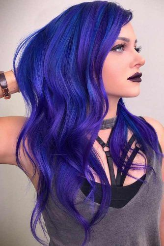 Byzantine Dark Blue #bluehair ❤️ A blue hair color will work great for women...
