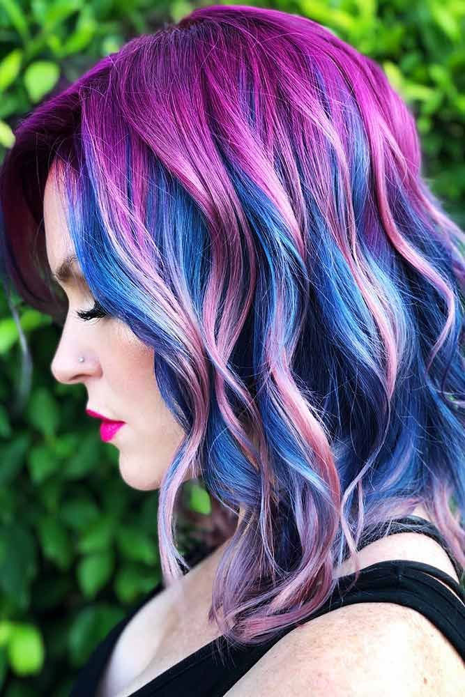 Majorelle Blue #bluehair #purplehair ❤️ A blue hair color will work great fo...