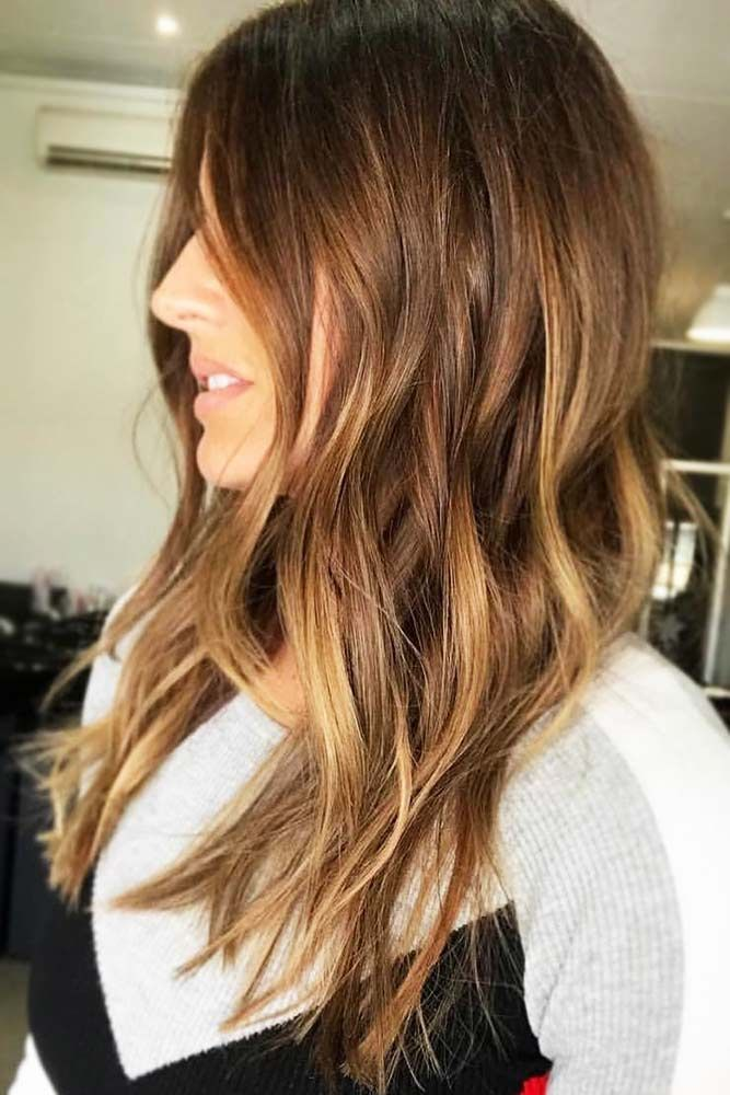 Melty Chocolate Ombre Balayage #brunette #ombre #balayage ❤️ Upgrade your pl...