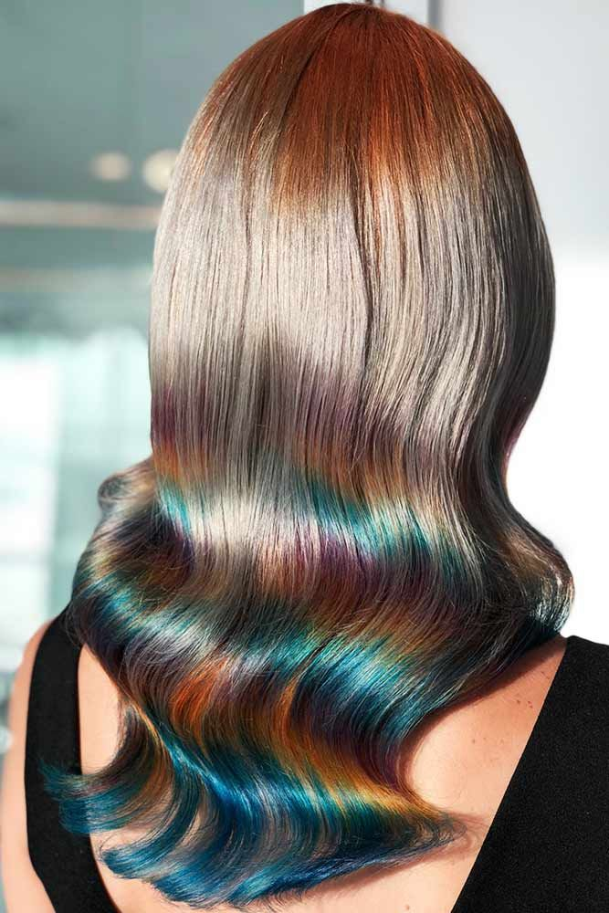Ocean Blue Holographic #holographichair #bluehair ❤️ If you are about to go ...