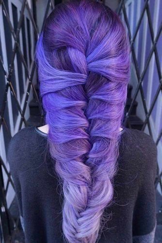 Palatinate Blue Balayage #bluehair #purplehair #balayage ❤️ A blue hair colo...