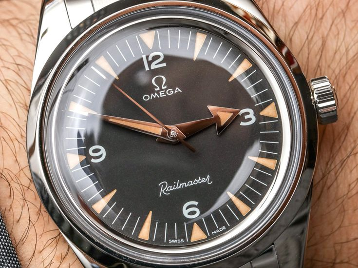 Omega 1957 Speedmaster, Seamaster, & Railmaster 'Trilogy' Watches Hands-On Hands...
