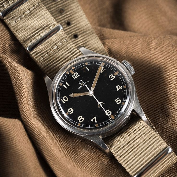 Omega CK-2777 1953 Military RAF watch. 5900 units commissioned by the RAF during...