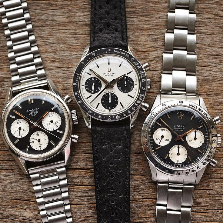 The Panda Chronograph featured in different makers. #luxurywatches
