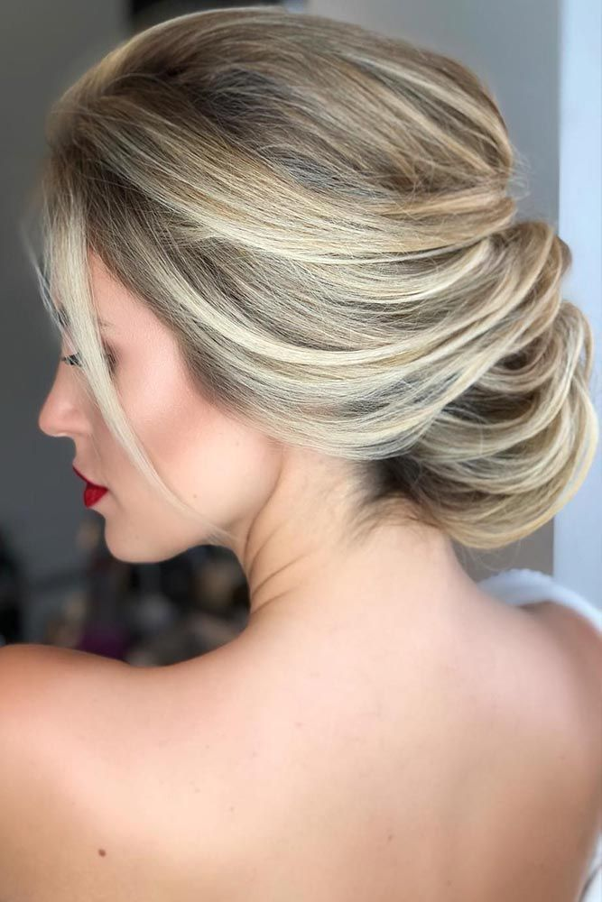 Balayage For Wedding Hairstyles #blondehair #updo ❤️ Balayage Is The Hottest...