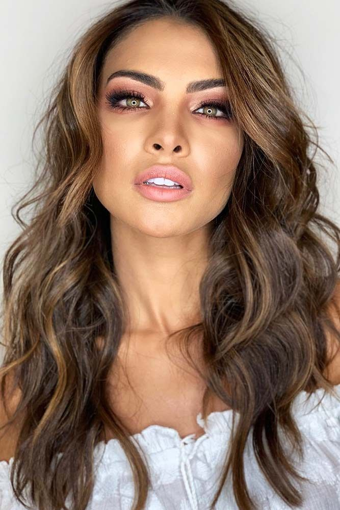 Beautiful Balayage For Brunettes Highlights #brunette #highlights ❤️ Highlig...