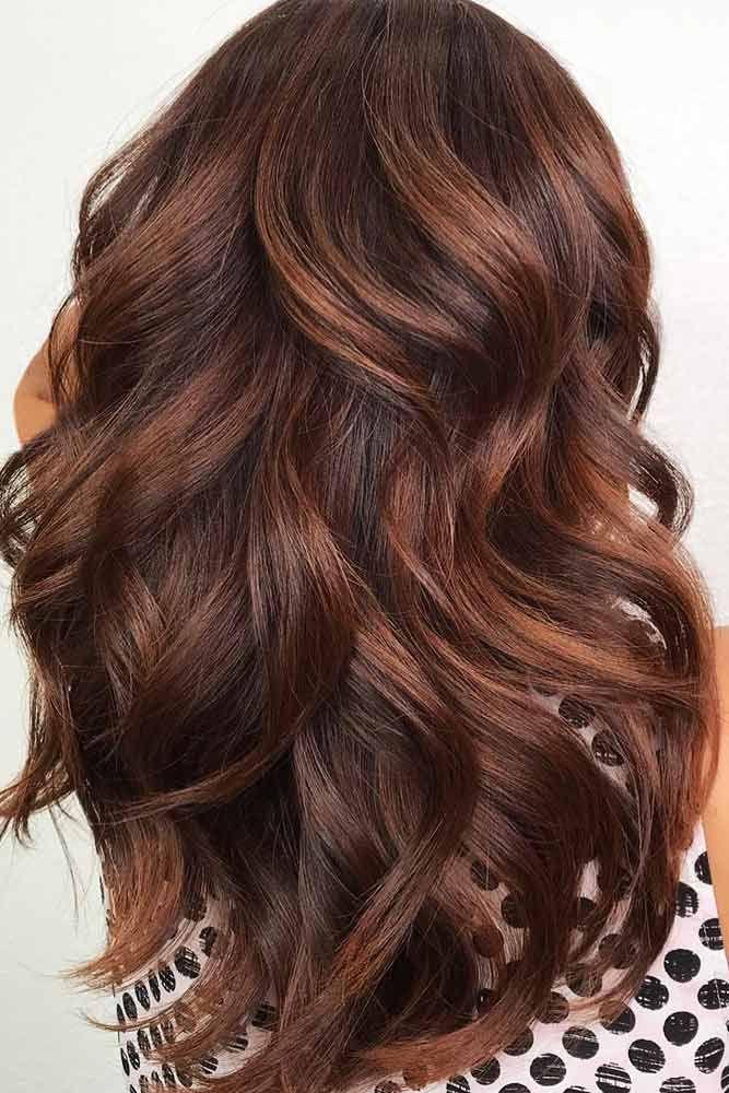 Brown To Cinnamon Balayage #brunette #brownhair #balayage ❤️ Balayage Is The...
