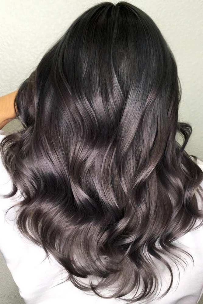 Cold Tones For Your Dark Hair #brunette #highlights ❤️ Highlighted hair is r...
