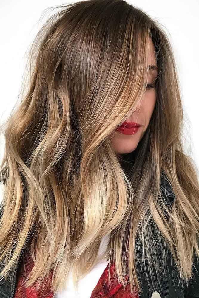 Hair Color 2017/ 2018 , Honey Blonde Balayage Hair Color