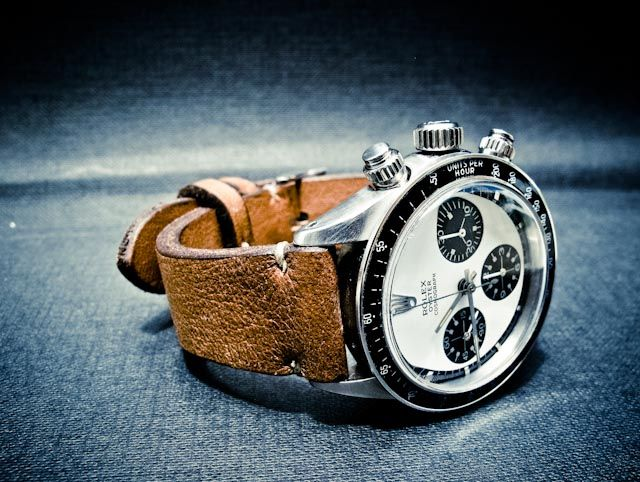Rolex Oyster Cosmograph with leather band $alot