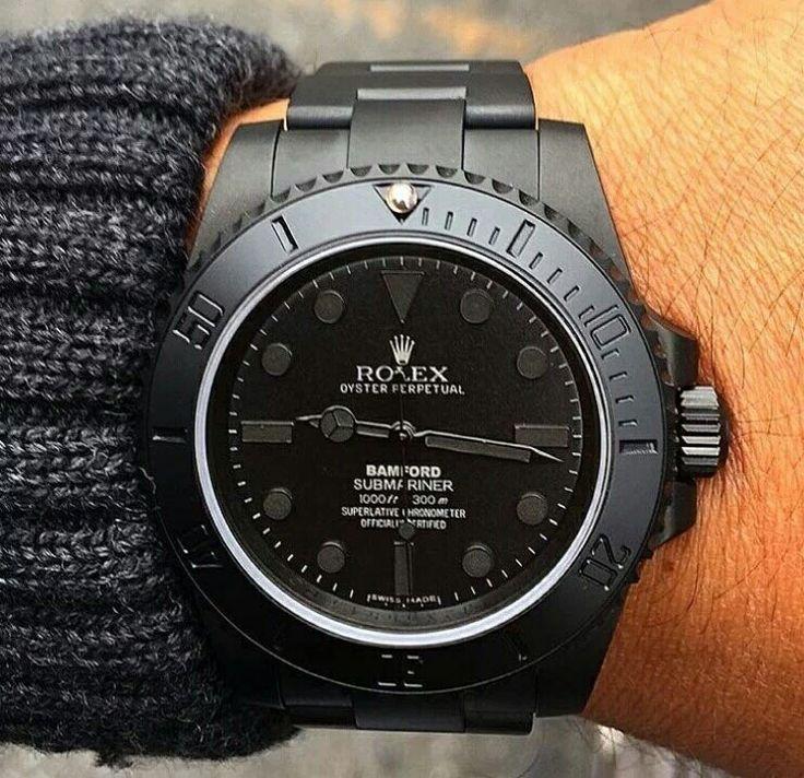 This triple black Rolex!!! 👏👏👏
